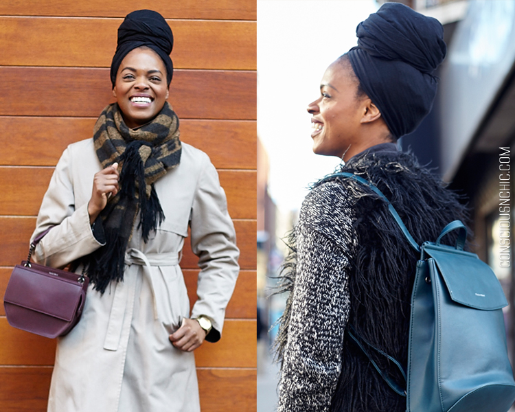 Winter hair tips headwrap - Conscious   Chic 51b7f092be8